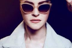 funk eyewear, Model Sissi Pohle,  Make-Up Artist & Hairstylist Bülent Musdu, Photography ©Florian Grey